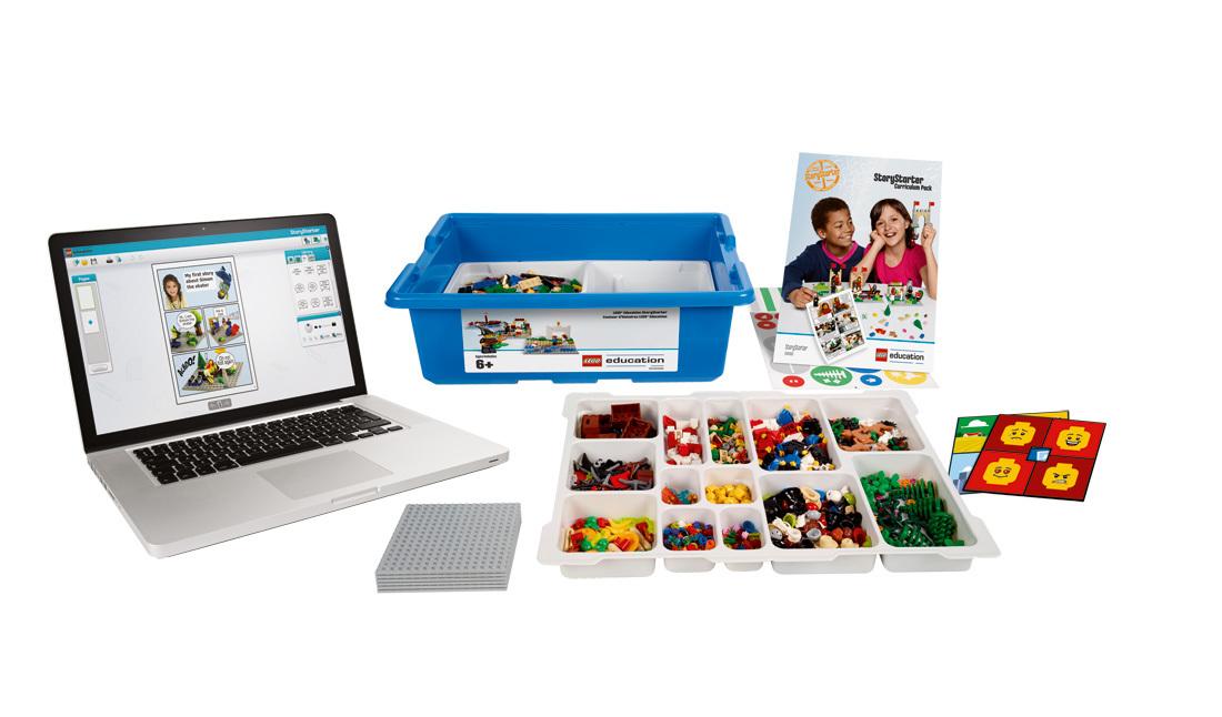 45100S5 Lego Education Построй свою историю на 5 учеников - комплект оборудования купить онлайн за 15499 цена каталога в интерне